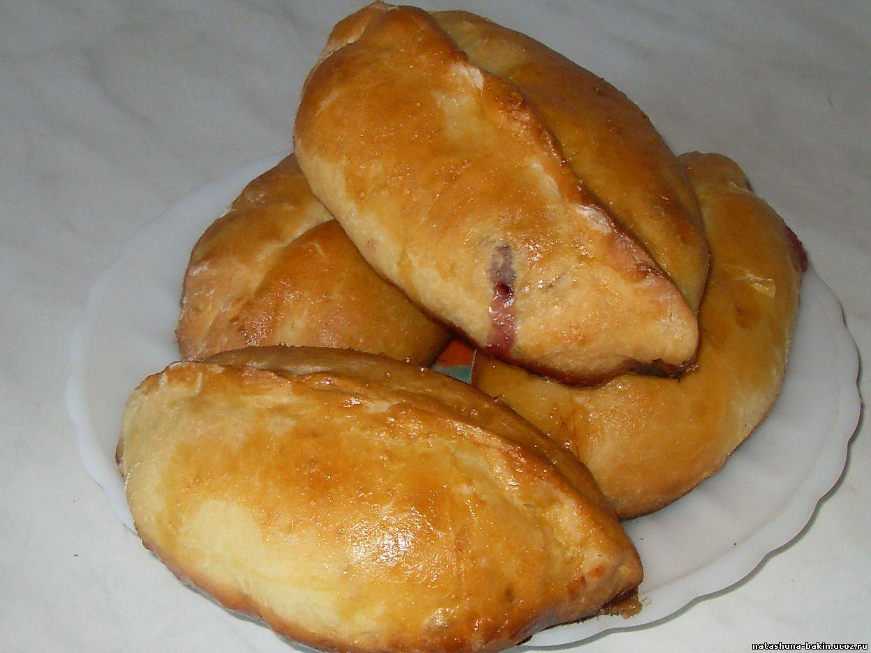 Жареные пирожки с ягодами рецепт с фото